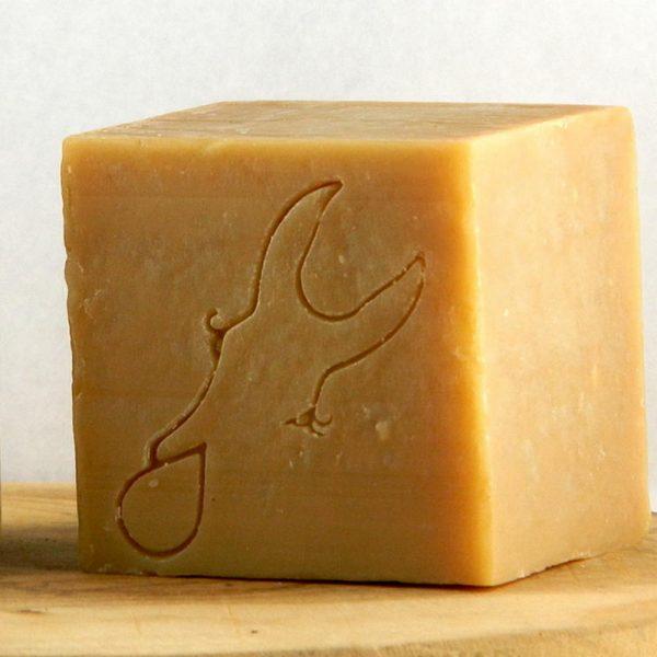 cube miel amande douce au lait d'ânesse bio195g