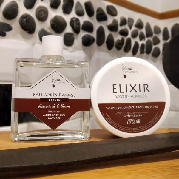 combo-savon-de-rasage-100g-apres-rasage-100ml-elixir-au-lait-de-jument-bio