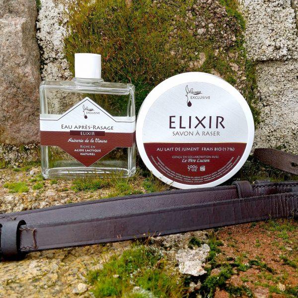 combo-savon-de-rasage-200g-apres-rasage-100ml-elixir-au-lait-de-jument-bio